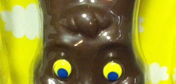 Chocolate Easter Bunny Means Acid Reflux!